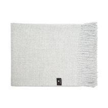 Baby Alpaca Throw Blanket - Grey