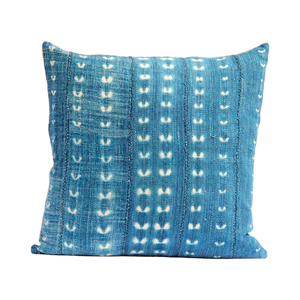 Vintage Indigo Pillow IX
