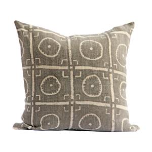 Vintage Mudcloth Pillow XV