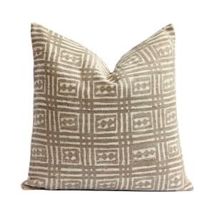 Vintage Mudcloth Pillow VI