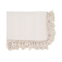 Meridian | Handwoven Cotton Throw Blanket - Handmade in Mexico