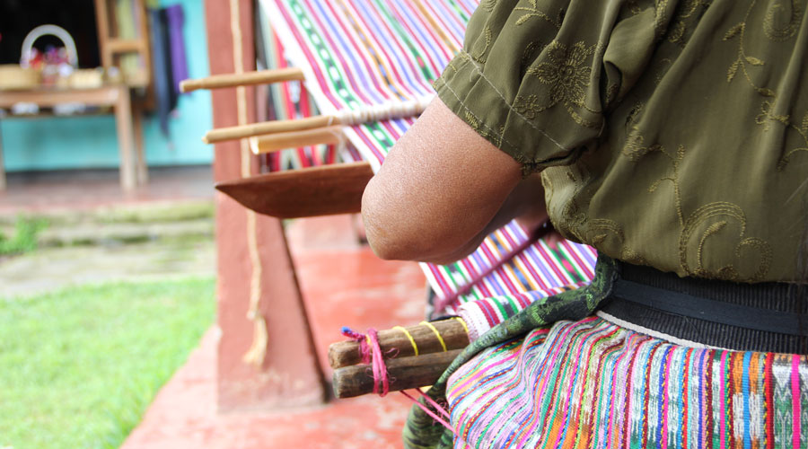 Meridian | Weaving on Lake Atitlan