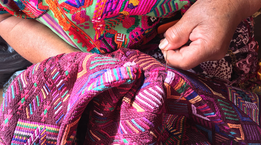 Meridian | Guatemalan Embroidery