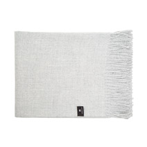 Meridian | 100% Baby Alpaca Throw Blanket - Grey