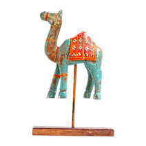 Meridian | Wooden Camel on Stand