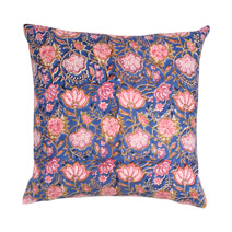 Meridian | Block Print Pillow II