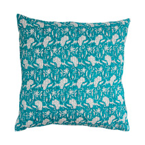 Meridian | Block Print Pillow I