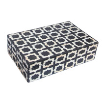 Meridian | Bone Inlay Box - Moroccan Tile