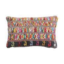 Meridian | Vintage Huipil Pillow XIV