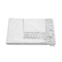 Meridian | Baby Alpaca Throw Blanket - Grey