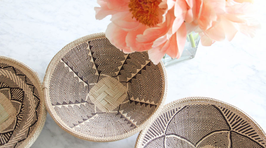 Meridian | Woven Palm Baskets