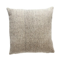 Meridian | Chiapas Wool Pillow - Grey Stripe