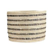 Striped Storage Basket I from Uganda
