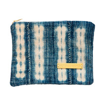 Meridian | Vintage Indigo Zipper Pouch IV