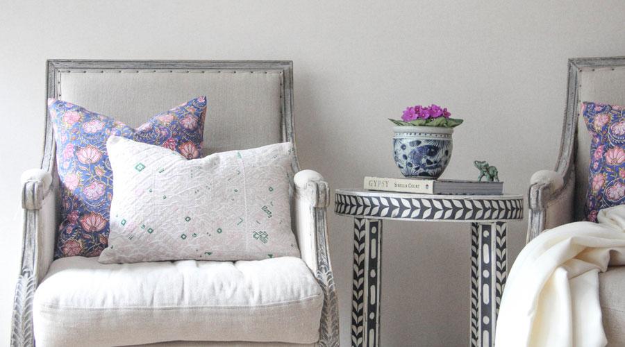 Meridian | Huipil and Block Print Pillows