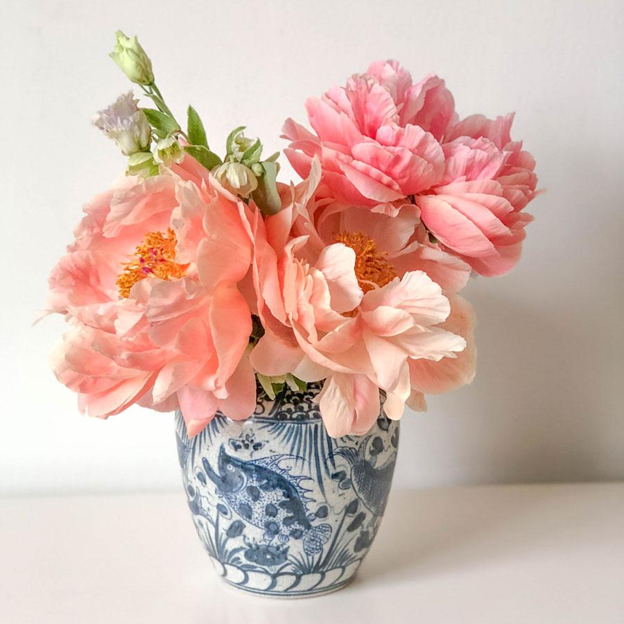 Meridian | Blue and White Porcelain Vase