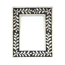 Meridian | Bone Inlay Picture Frame - Black