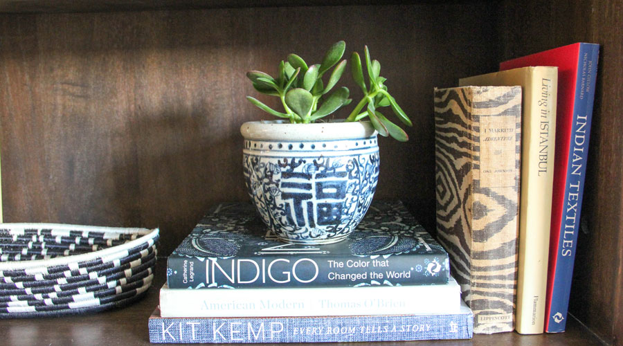 Meridian | Blue and White Porcelain Pot - Double Happiness