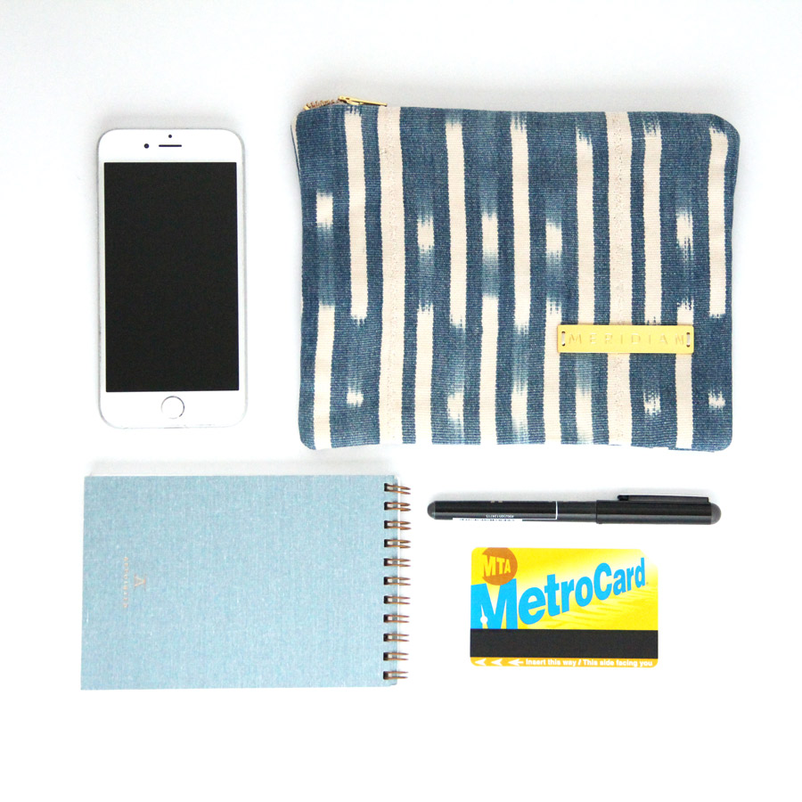 Meridian | A Zipper Pouch for Everyone on Your List -- Gifts for Blogger Bestie