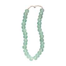 Meridian | Recycled Glass Bead Strand - Watermelon