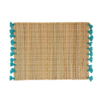 Meridian | Tassel Placemat - Turquoise