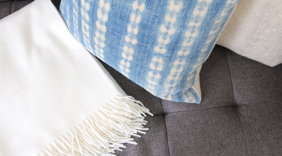 Meridian | Baby Alpaca Throw Blanket