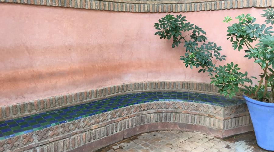 Meridian | Jardin Majorelle in Marrakech, Morocco.