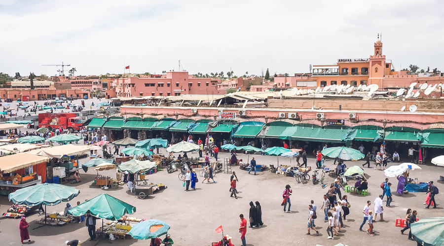 Meridian | Jemaa el Fnaa in Marrakech Morocco