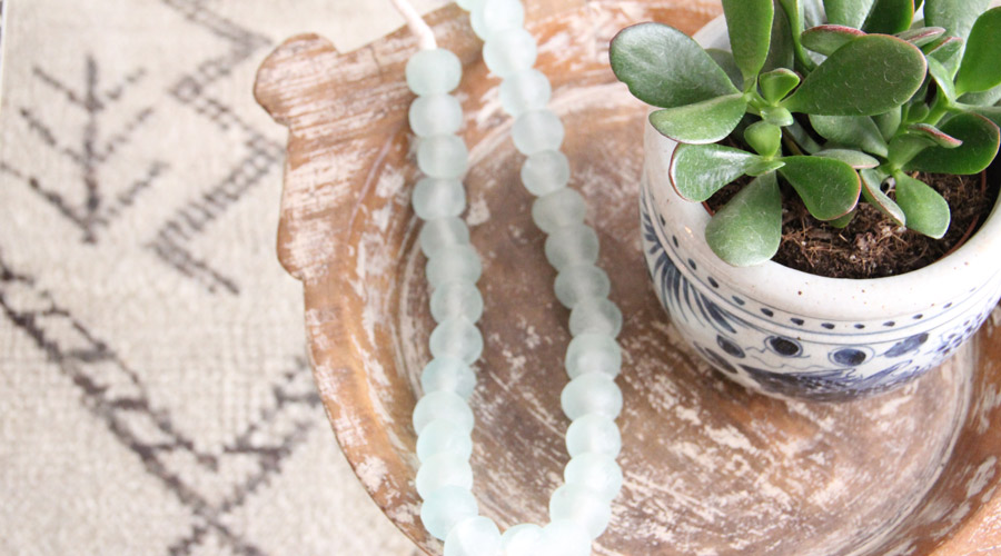 Meridian   Blue and White Porcelain Pot