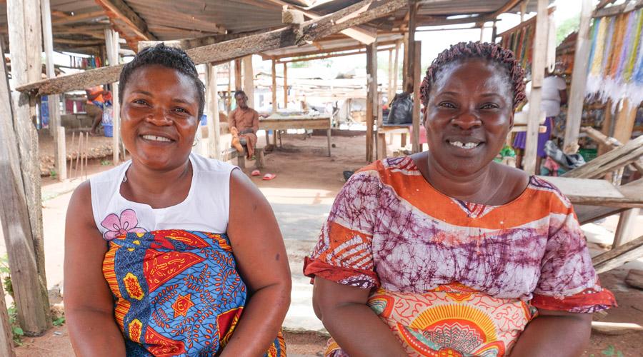 Meridian | Fair Trade bead artisans in Ghana, West Africa.