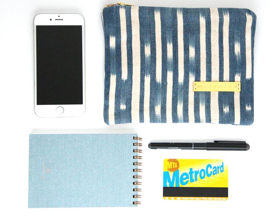 Meridian | Baule Zipper Pouch II