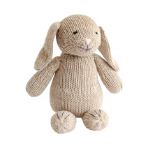 Meridian | Bette the Bunny is a Fair Trade knit stuffed animal handmade in Peru.