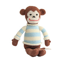 Meridian | Murray the Monkey is a Fair Trade knit stuffed animal handmade in Peru.