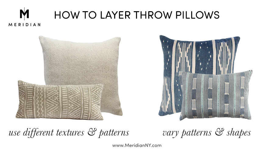 Meridian | How to Layer Global Throw Pillows