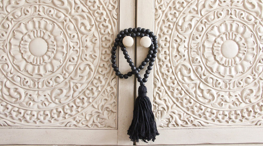 What I Brought Back From Indonesia - Long Strand of Black Beads | Meridian