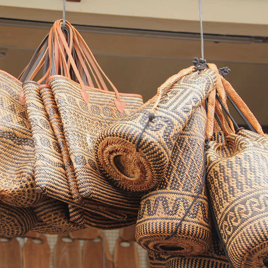What I Brought Back From Indonesia - Borneo Rice Baskets | Meridian