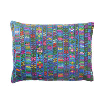 Huipil Pillow IX | Meridian