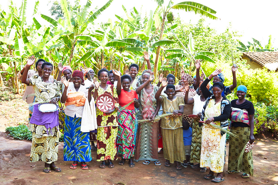 Here are some of our artisan partners in East Africa, who weave baskets and coasters for the Meridian collection.   Meridian