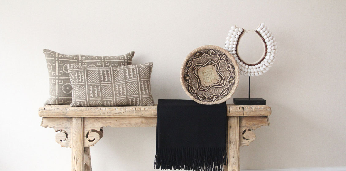 meridian neutral bohemian worldly decor