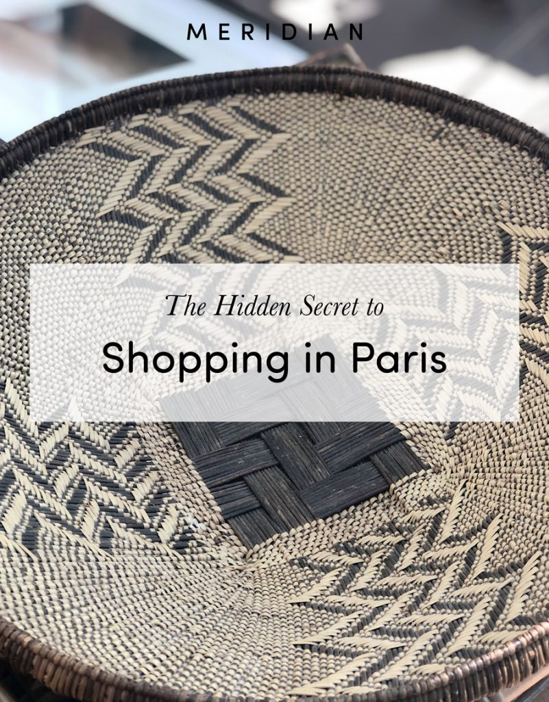 Meridian | The Hidden Secret to Shopping in Paris