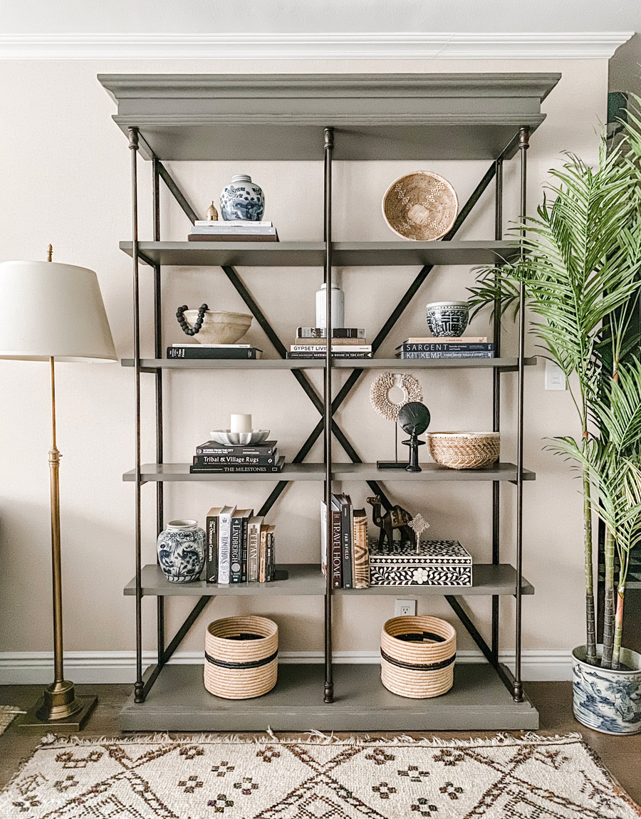 Meridian | The Designer Secret to Styling Gorgeous Global Shelves