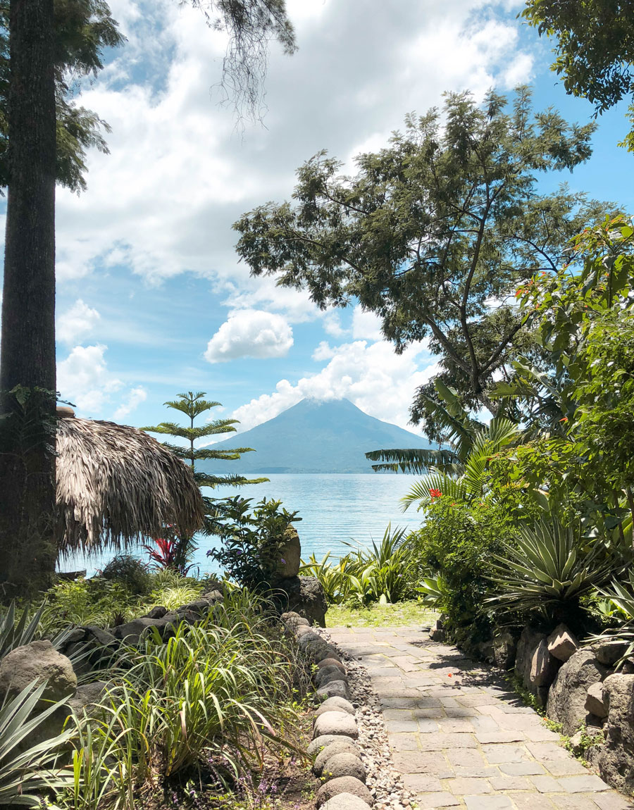 Meridian | Lake Atitlan, Guatemala is a delightful spot to take a rest from your travels and spend time in a private villa overlooking the lake.