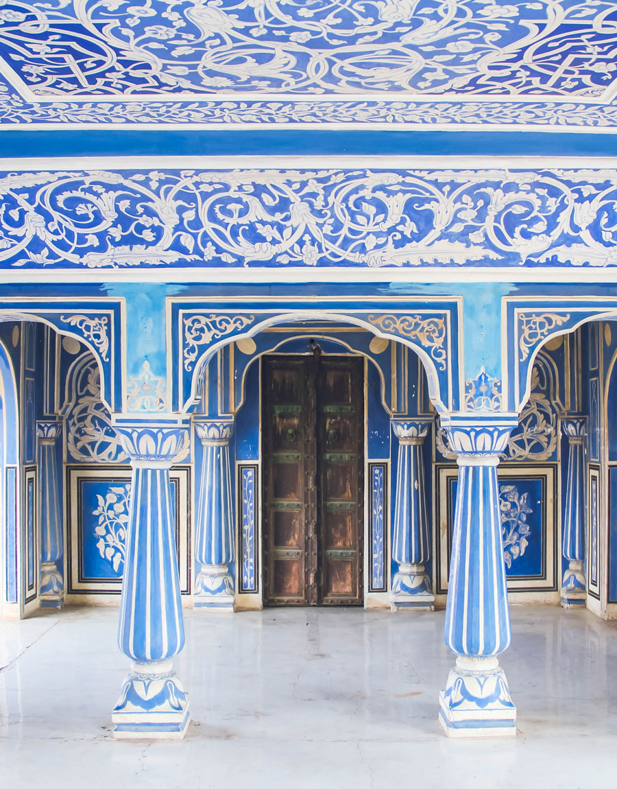 Meridian | The Maharaja resides in the Jaipur City Palace, Rajasthan, India.