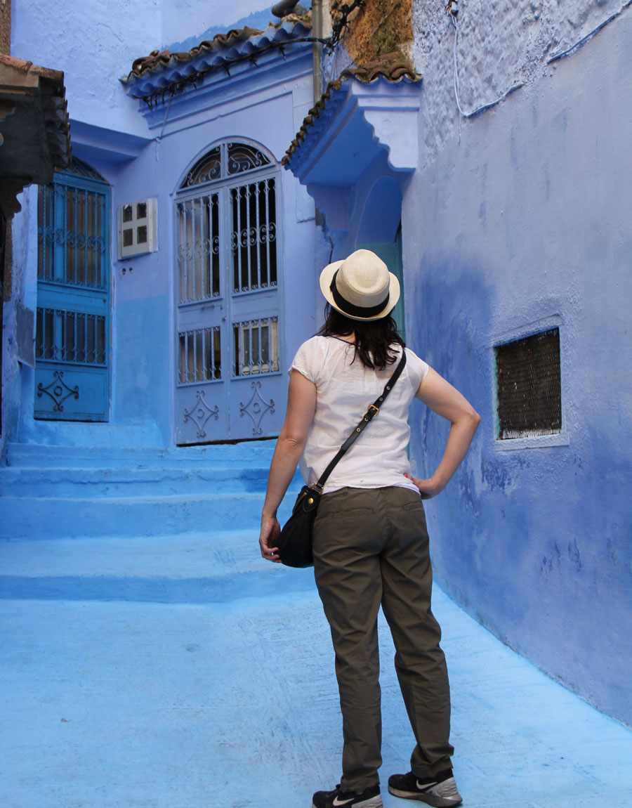 Meridian | Chefchaouen is located in Northern Morocco, and known as the Blue City.