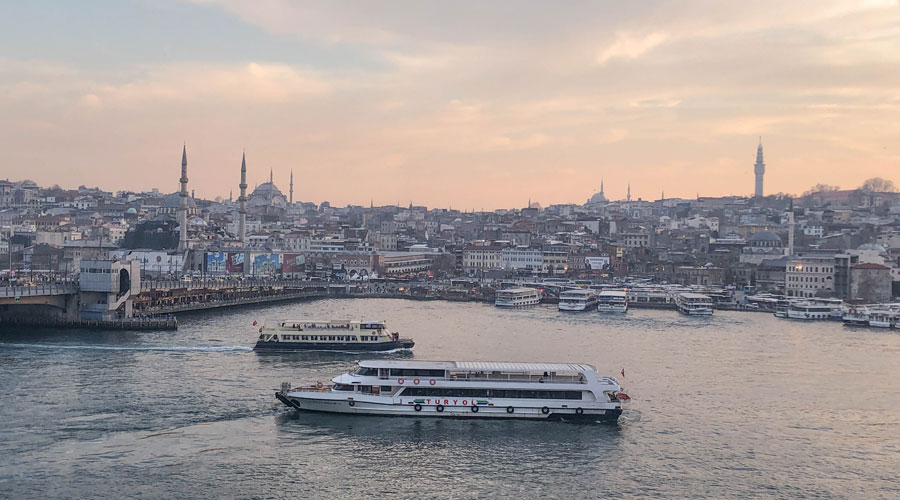 Meridian | A view from the Bosphorus in Istanbul, Turkey.